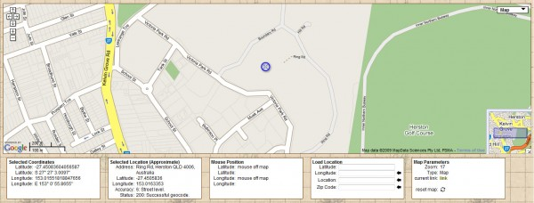 The interface for locating a latitude and longitude on http://www.findlatitudeandlongitude.com/